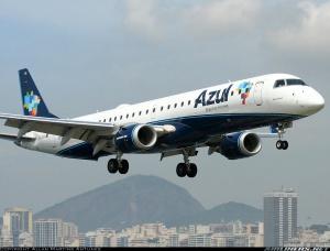 avião da Azul,Foto:Allan Martins Antunes