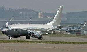 Boeing 737 BBJ.
