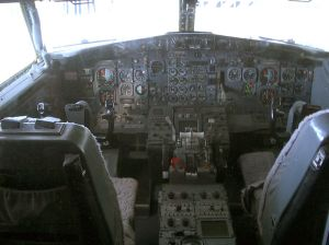 Caine do Boeing 737 Classic