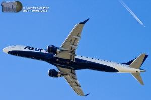 Azul Linhas Aéreas,foto:Leandro Luiz Pilch(Site terminal curitiba)