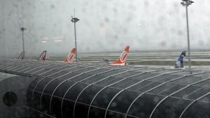 Voos foram desviados para o Aeroporto Tom Jobim,foto: Motta/Estadão Conteúdo