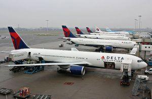 Boeing 767 da Delta Airlines, foto:eisenbahner