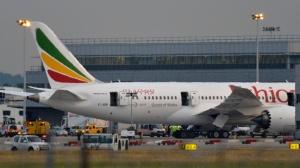 Boeing 787 da  Ethiopian Airlines ,foto:Toby Melville / Reuters