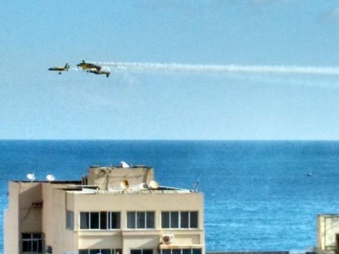 Aeronave participava de apresentação em comemoração ao dia do Aviador (Foto: Darlan Azevedo/Arquivo pessoal)