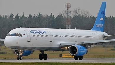 MetroJet Airbus A321 Cortesia: MetroJet
